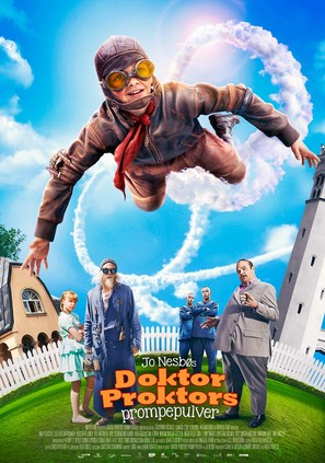 Doktor Proktors prompepulver - Norwegian Movie Poster (thumbnail)