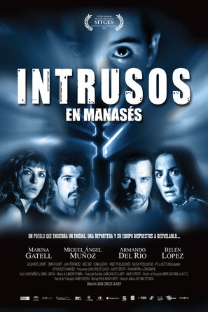 Intrusos en Manasés - Spanish Movie Poster (thumbnail)