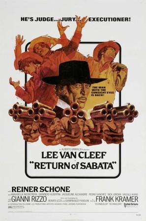 È tornato Sabata... hai chiuso un'altra volta - Theatrical movie poster (thumbnail)