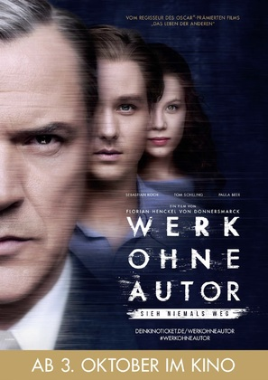 Werk ohne Autor - German Movie Poster (thumbnail)