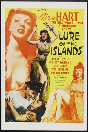 Lure of the Islands - Movie Poster (thumbnail)