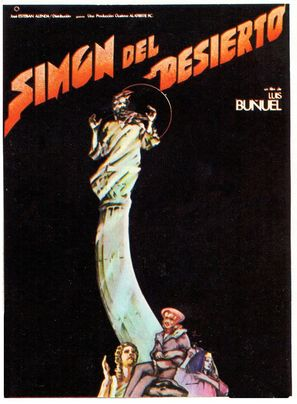 Simón del desierto - Spanish Movie Poster (thumbnail)