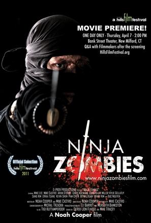 Ninja Zombes - Movie Poster (thumbnail)