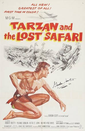 Tarzan and the Lost Safari - Movie Poster (thumbnail)
