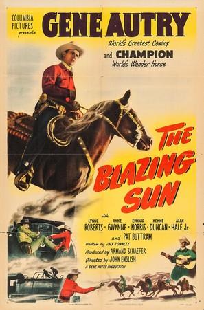 The Blazing Sun - Movie Poster (thumbnail)
