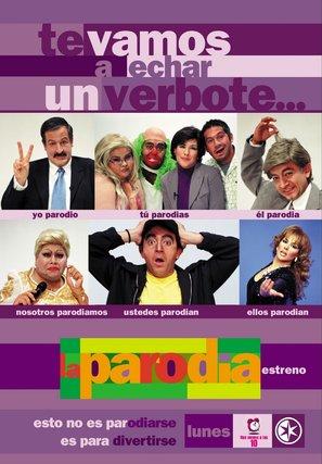 """La parodia"" - Mexican Movie Poster (thumbnail)"