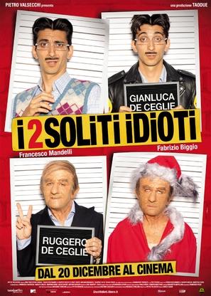 I 2 soliti idioti - Italian Movie Poster (thumbnail)