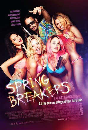 Spring Breakers - Movie Poster (thumbnail)
