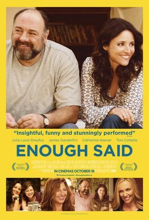 Enough Said - British Movie Poster (thumbnail)