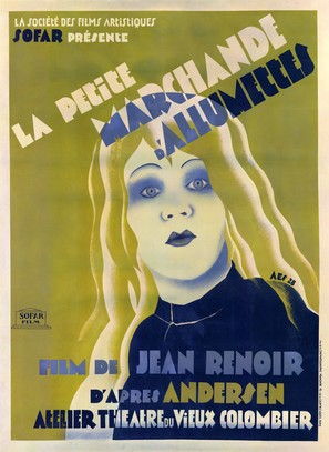 La petite marchande d'allumettes - French Movie Poster (thumbnail)