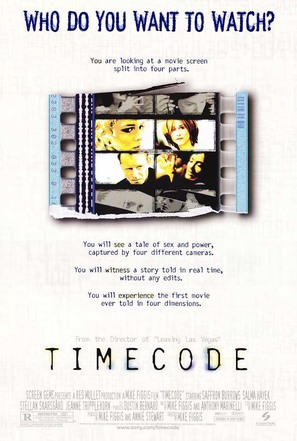 Timecode - Movie Poster (thumbnail)