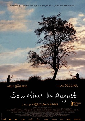 Mitte Ende August - British Movie Poster (thumbnail)