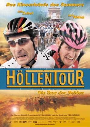 Höllentour - German Movie Poster (thumbnail)