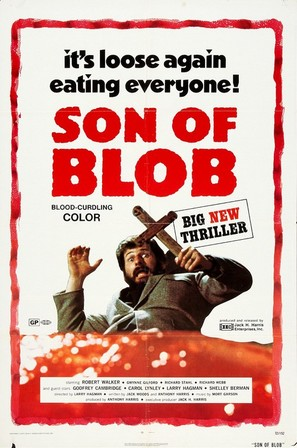 Beware! The Blob - Movie Poster (thumbnail)