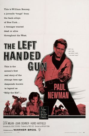 The Left Handed Gun - Movie Poster (thumbnail)
