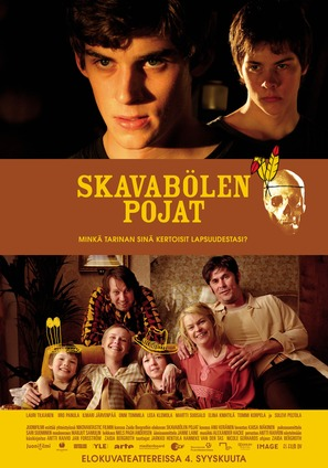 Skavabölen pojat - Finnish Movie Poster (thumbnail)