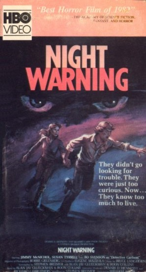 Night Warning - VHS movie cover (thumbnail)