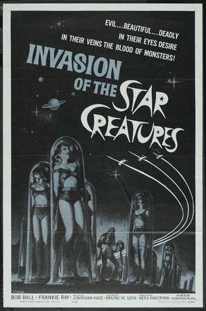 Invasion of the Star Creatures - Movie Poster (thumbnail)