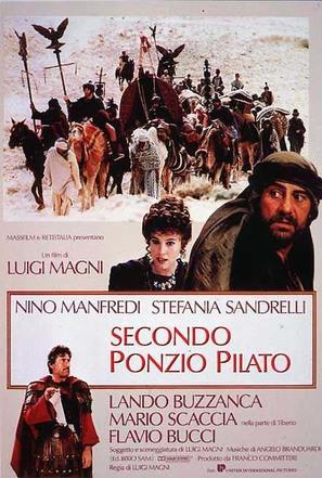 Secondo Ponzio Pilato - Italian Movie Poster (thumbnail)