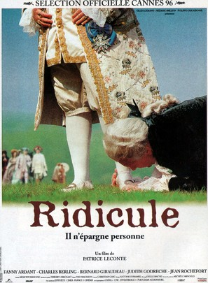 Ridicule - French Movie Poster (thumbnail)