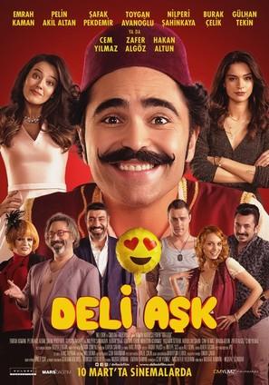 Deli Ask - Turkish Movie Poster (thumbnail)