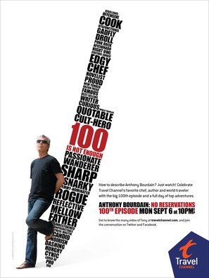 """Anthony Bourdain: No Reservations"" - Movie Poster (thumbnail)"
