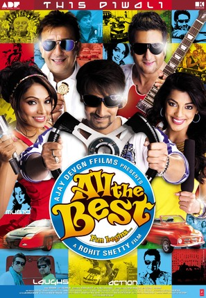 All the Best: Fun Begins - Indian Movie Poster (thumbnail)