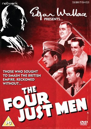 The Four Just Men - British DVD movie cover (thumbnail)