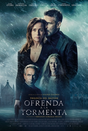 Ofrenda a la tormenta - Spanish Movie Poster (thumbnail)