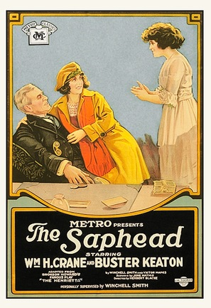 The Saphead - Movie Poster (thumbnail)