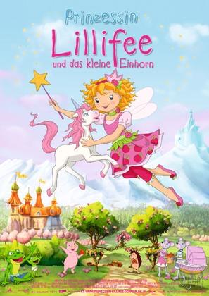 Prinzessin Lillifee und das kleine Einhorn - German Movie Poster (thumbnail)