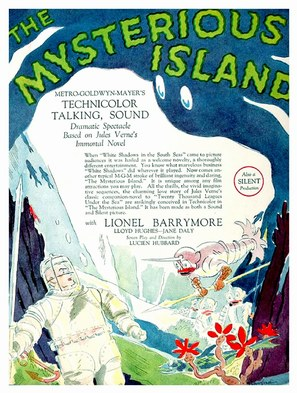 The Mysterious Island - Movie Poster (thumbnail)