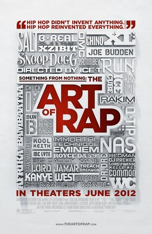 Something from Nothing: The Art of Rap - Movie Poster (thumbnail)
