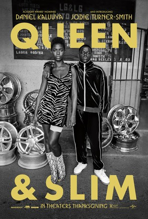 Queen & Slim - Movie Poster (thumbnail)
