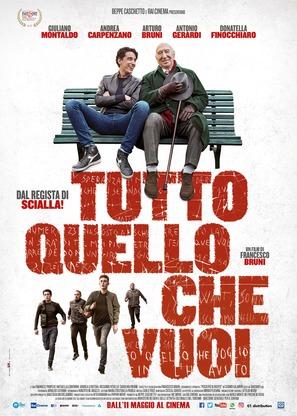 Tutto quello che vuoi - Italian Movie Poster (thumbnail)