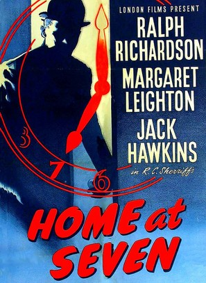 Home at Seven - British Movie Poster (thumbnail)