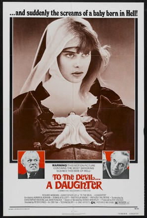To the Devil a Daughter - Theatrical poster (thumbnail)