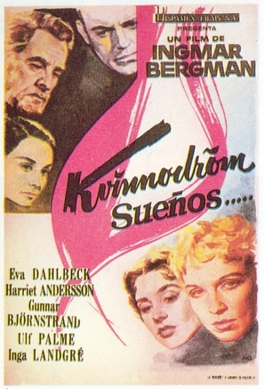 Kvinnodröm - Spanish Movie Poster (thumbnail)