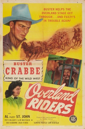Overland Riders - Movie Poster (thumbnail)