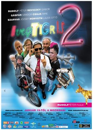 Üvegtigris 2 - Hungarian Movie Poster (thumbnail)