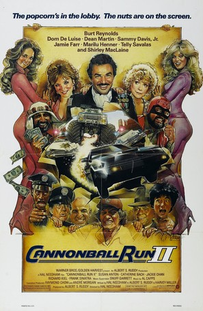 Cannonball Run 2 - Movie Poster (thumbnail)