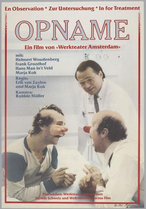 Opname - German Movie Poster (thumbnail)