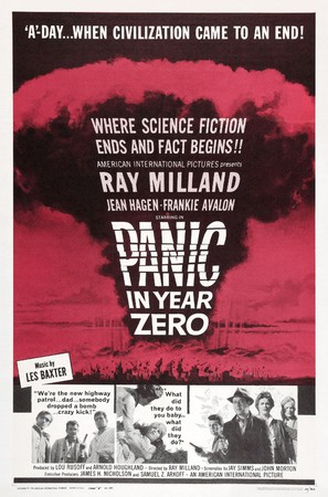 Panic in Year Zero! - Theatrical poster (thumbnail)