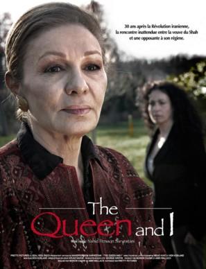 Drottningen och jag - French Movie Poster (thumbnail)