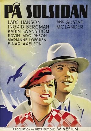 På solsidan - Swedish Movie Poster (thumbnail)