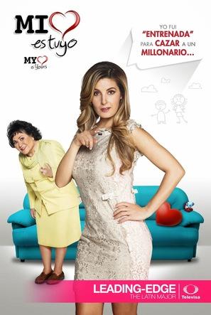 """Mi corazón es tuyo"" - Mexican Movie Poster (thumbnail)"