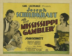 The Mississippi Gambler - Movie Poster (thumbnail)