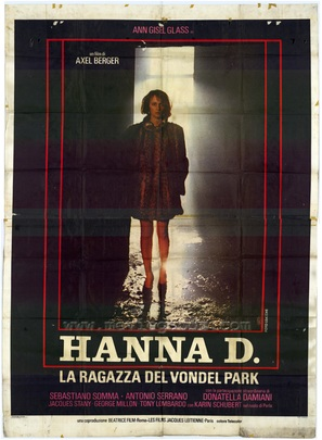 Hanna D. - La ragazza del Vondel Park - Italian Movie Poster (thumbnail)
