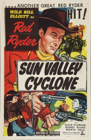 Sun Valley Cyclone - Movie Poster (thumbnail)