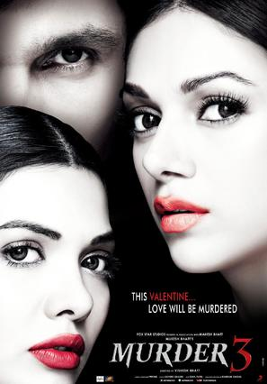 Murder 3 - Indian Movie Poster (thumbnail)
